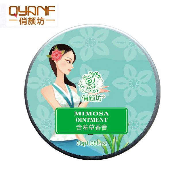 Qiao Yan Fang authentic mimosa Ms. solid perfume balm lasting fragrant pure sweet sweet floral scent<br><br>Aliexpress