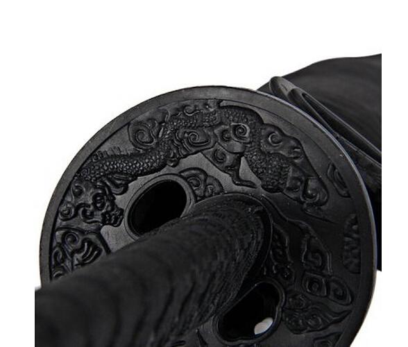 Новое поступление самурай катана формы зонтик разработанный с удобной меч самурая ручка ( черный )