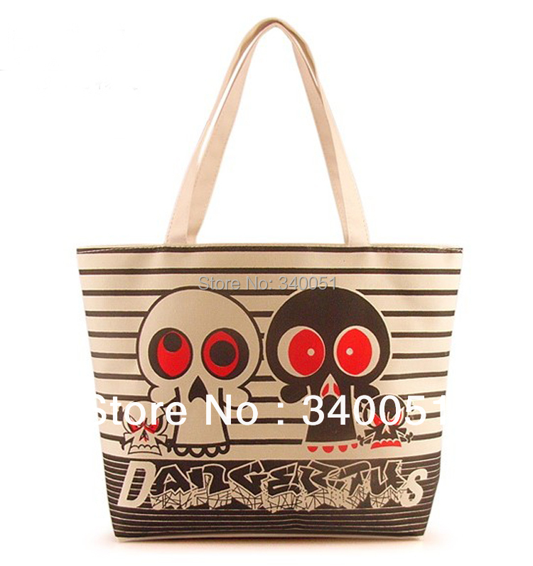 New Arrival Low Price Wholesale Hello Kitty Shopping Bag Canvas Shoulder Bag+Free Shipping(China (Mainland))