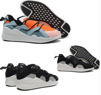 Y3 Yohji original 2015 runner Y3 men cool black white blue orange color mix ToggleBoost Sneakers free shipping fashion shoes(China (Mainland))