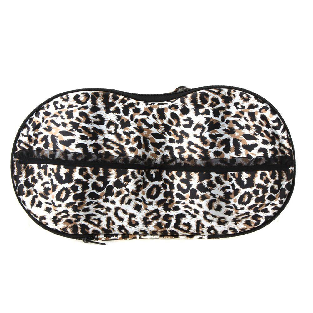 SZS Wholesale Underwear Storage Box Covered Bra Finishing Panties Socks Travel Portable Storing Case Bag Leopard Best Selling(China (Mainland))