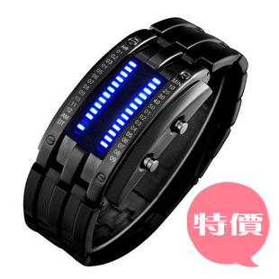 1pcs/lot Freeshipping wholesale military watch,led digital movement,red/blue/white/green led,watches men,alloy metal band/case