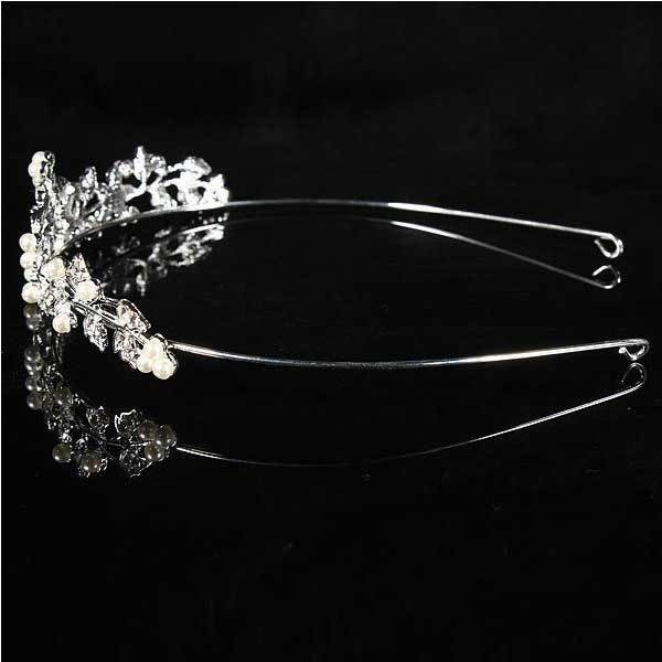 BearPoint Metal Crystle Flower Wedding Bridal Tiara Alloy Prom Party Head Band(China (Mainland))