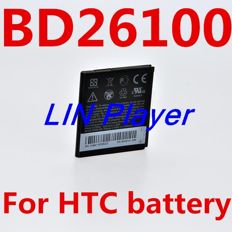 1230mah BD26100 BA S470 battery for HTC Inspire 4G Desire HD G10 T8788 A9191 A9192 Replacemt(China (Mainland))