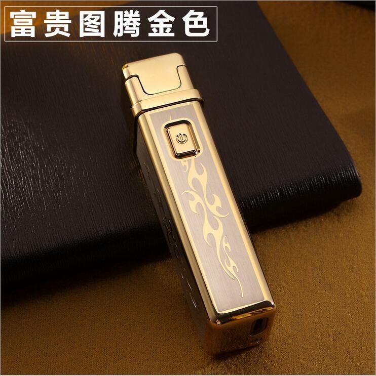 ถูก ขายส่งJobon USBแบบชาร์จลมarcบางเฉียบสร้างสรรค์แรงกระตุ้นบุคลิกภาพโลหะบุหรี่อิเล็กทรอนิกส์เบา