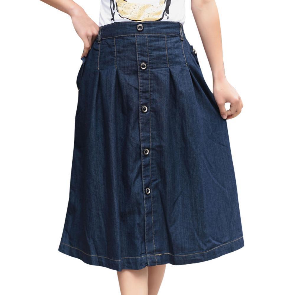 2015 new autumn korean charming stretch denim skirts