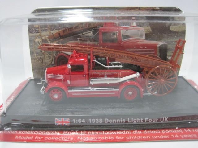 Yuan Bao AMER COM 1/64 1938 DENNIS LIGHT&amp British FOUR fire truck model;(China (Mainland))