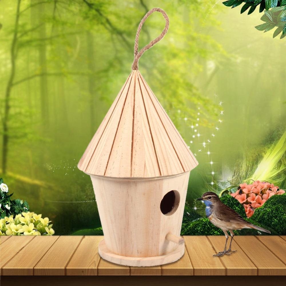 Online kopen wholesale decoratieve houten vogelhuisjes uit china decoratieve houten vogelhuisjes - Houten tuin decoratie ...