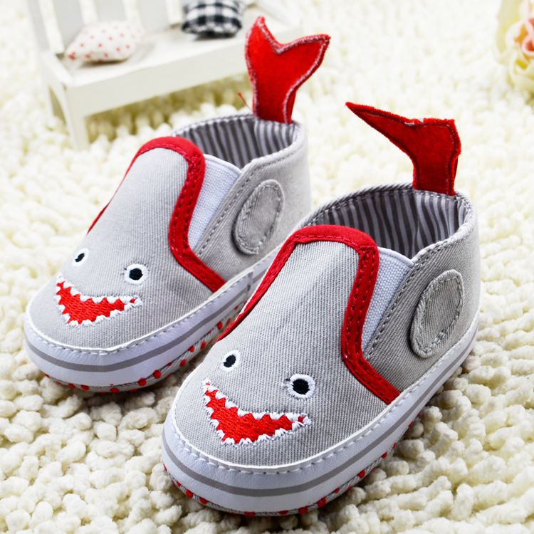 1PCS New Arrival Baby Shoes 5-Colors Fashion Cool Boy Babies Toddler Shoes Children's Footwear First Walkers High-Quality 1035