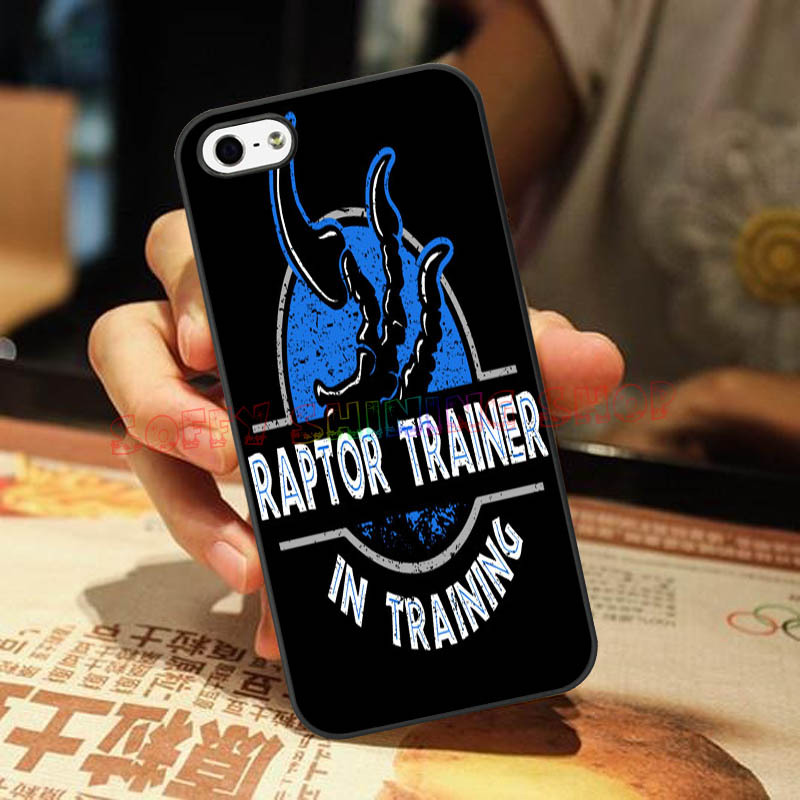 Jurassic RAPTOR TRAINER IN TRAINING case For LG G2 3 4 IPod 5 IPhone4s 5s 5C 6Plus HTC M7 8 9 Samsung S3 4 5 6edge Mini Note 3 4(China (Mainland))