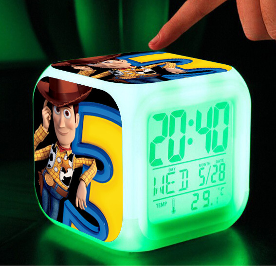2015 HOT anime toys hobbies toy story woody chirldrens classic toys buzz lightyear movie tv clocks action figure free shipping(China (Mainland))