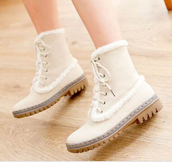 Lastest  Womens Cute Panda Pattern Fashion Winter Warm Ankle Snow Boots Shoes