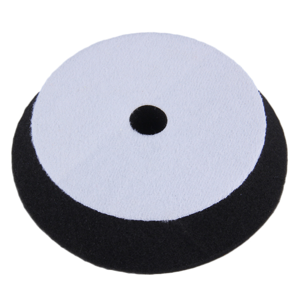 New 6 inch/150mm Portable Oblique Sponge Buffing Pad Polishing Plate for Car Polisher waxing Car cleaning(China (Mainland))