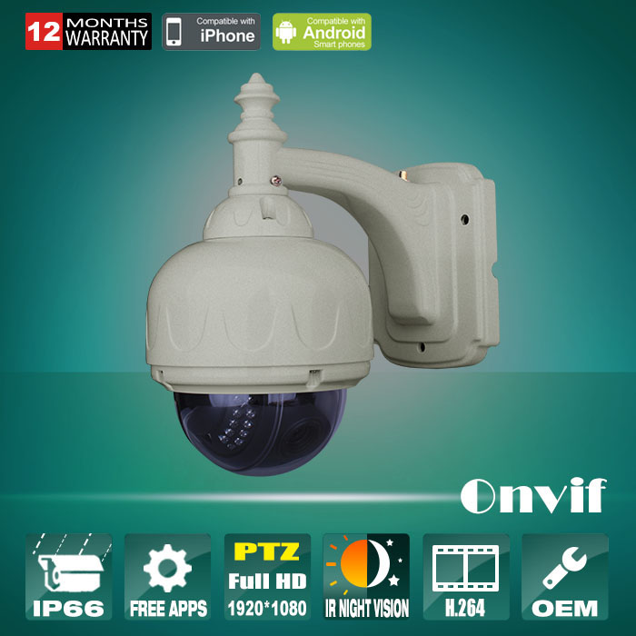 IP Camera PTZ H.264 1080P HD 22 IR Night Vision Waterproof Dome Pan Tilt Zoom 3-10mm For Home Security CCTV Surveillance System<br><br>Aliexpress
