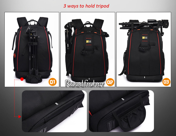 Camera backpack bag 8
