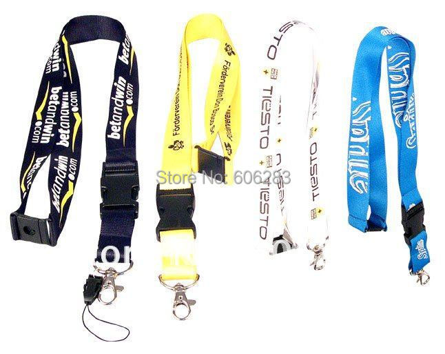 Promotion lanyard for exhibition activity high quality with 2.5CM width FREE SHIPPING(China (Mainland))