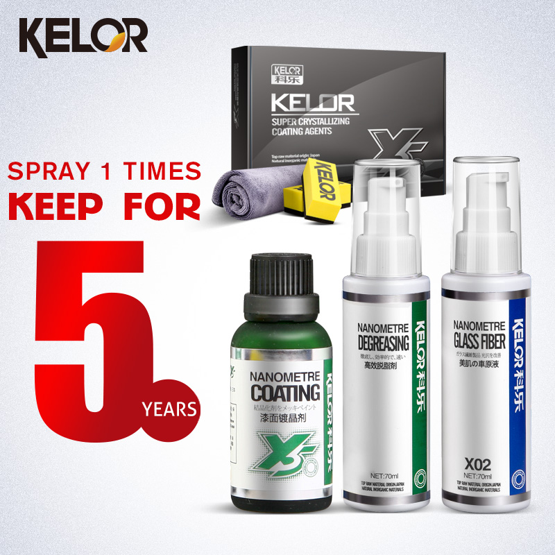 Kelor Paint Car Color Repair-covers Glass Coating Car Wax Liquid Car Polish Fix It Car Paint Scratch Repair x5(China (Mainland))