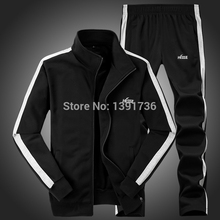 2015 Hot Sell Winter Mens Tracksuits Blue Fashion Hoody Clothes And Hoodies Pant With Long Sleeve Of Mens Colored Suits LC-D19(China (Mainland))