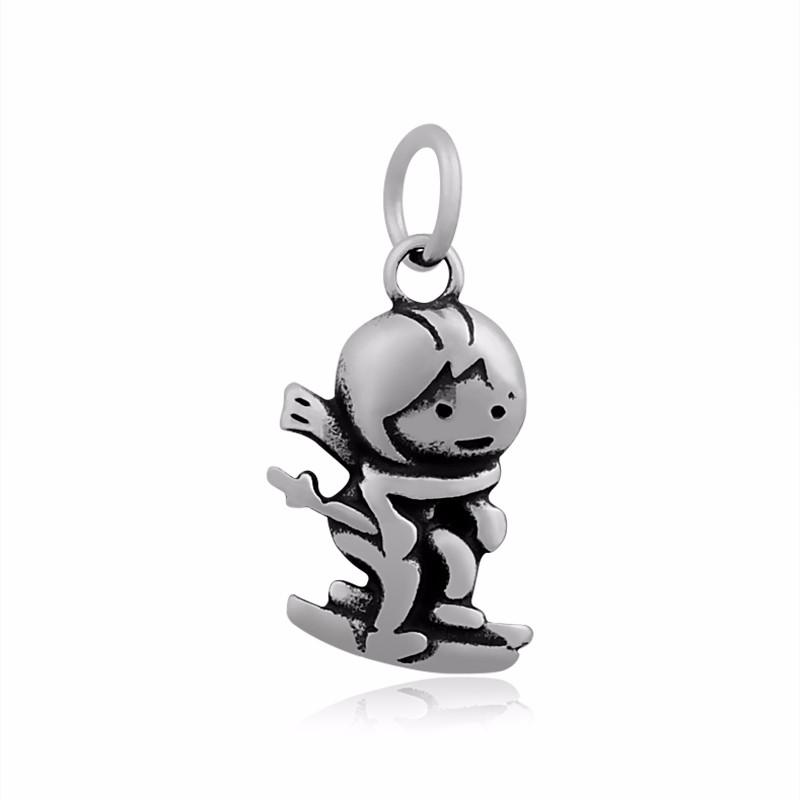 Home & Garden Able Skyrim Sports Ski Cheerleading Boxing Skating Diver Girl Figure Pendants For Diy Necklace/bracelets Accessories Charms High Quality Materials