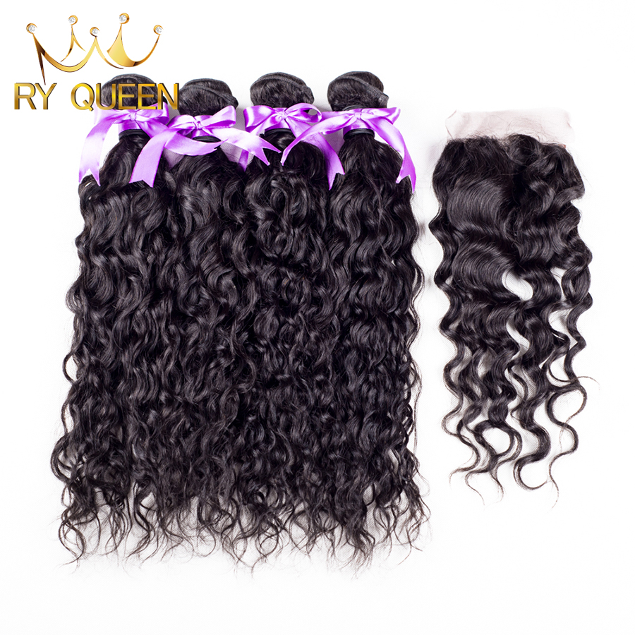 Peruvian Natural Wave 3 Bundles With Closure Unprocessed Peruvian Virgin Hair With Closure Cheap Human Hair Weave Free Shipping<br><br>Aliexpress