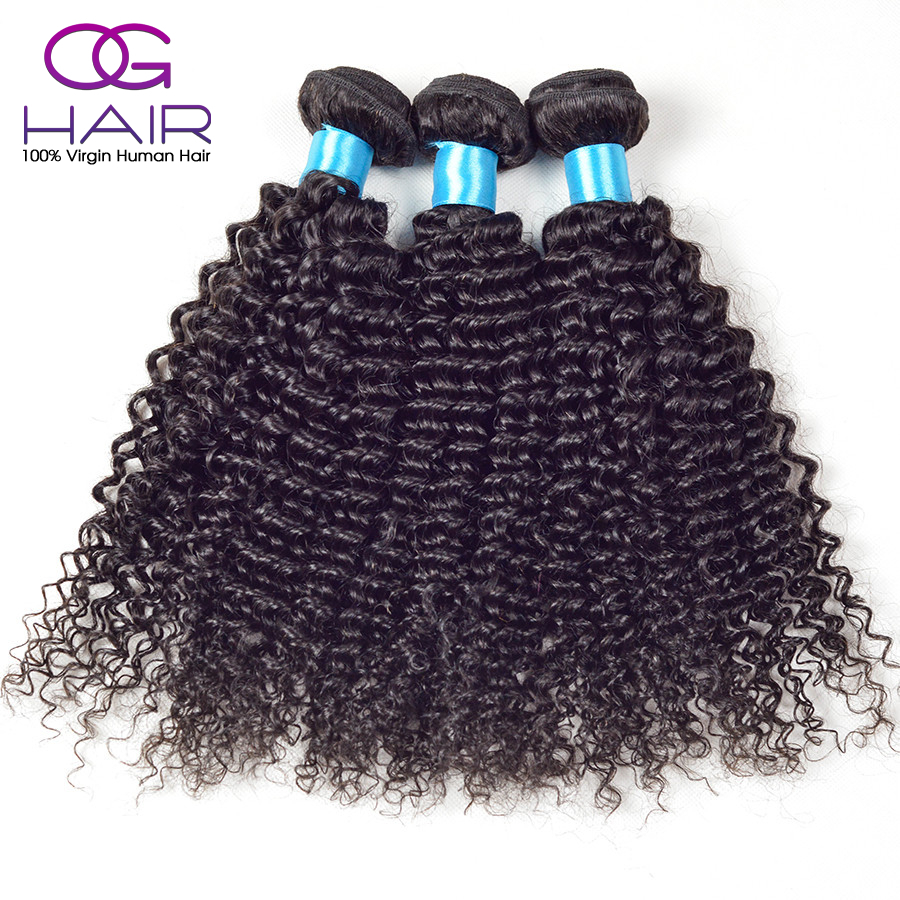 Queen hair products Malaysian virgin hair 3pc lot Unprocessed human hair weave curly Malaysian curly hair 12″-28″ kinky curly