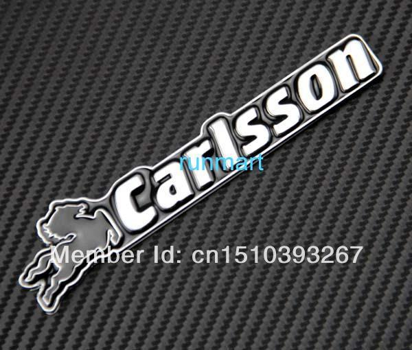 Metal Emblem 3D Badge Sticker Decal Universal Fit CARLSSON rR52(China (Mainland))