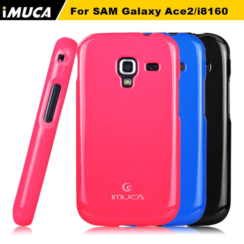 IMUCA High Quality Soft Silicone Gel TPU Case Cover Skin For Samsung Galaxy Ace 2 I8160 +screen protector Cell Phone Accessories(China (Mainland))