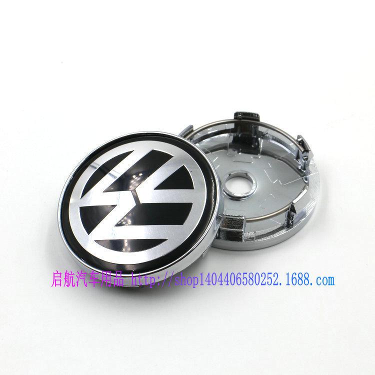 4X 60MM BLACK CAR WHEEL Hub Center LOGO Caps emblem Fits for VW Golf 6 Jetta MK5 MK6 POLO passat B5 B6 B7 #SO266(China (Mainland))