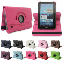 """3 in 1 360 rotating case for samsung galaxy tab 2 7.0 P3100 P3113 7"""" tablet cover for samsung 7 inch +screen protector+stylus"""