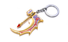dota 2 keychain pudge toys set 2016 New Game Dota2 action figures resin weapons sword Talisman props ornaments car styling decor(China (Mainland))