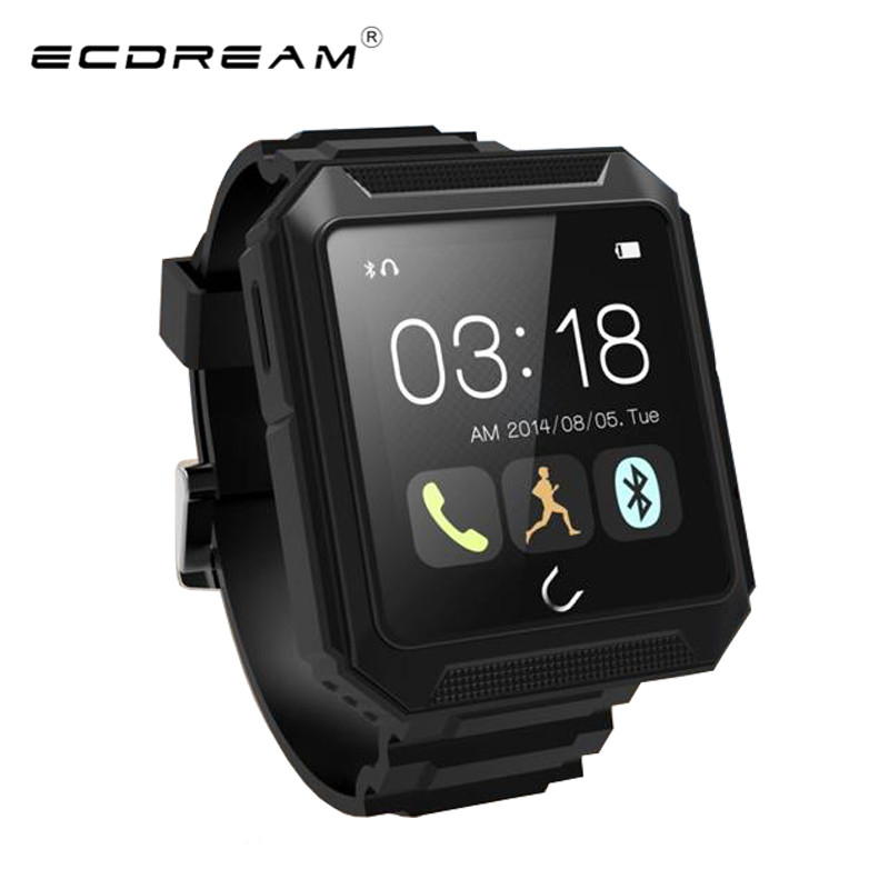 Smart Watch sport Uterra watch Bluetooth 4.0 IP68 Pedometer Calls Compass IPS Screen For Samsung S5 Note 4 HTC ios smart phone