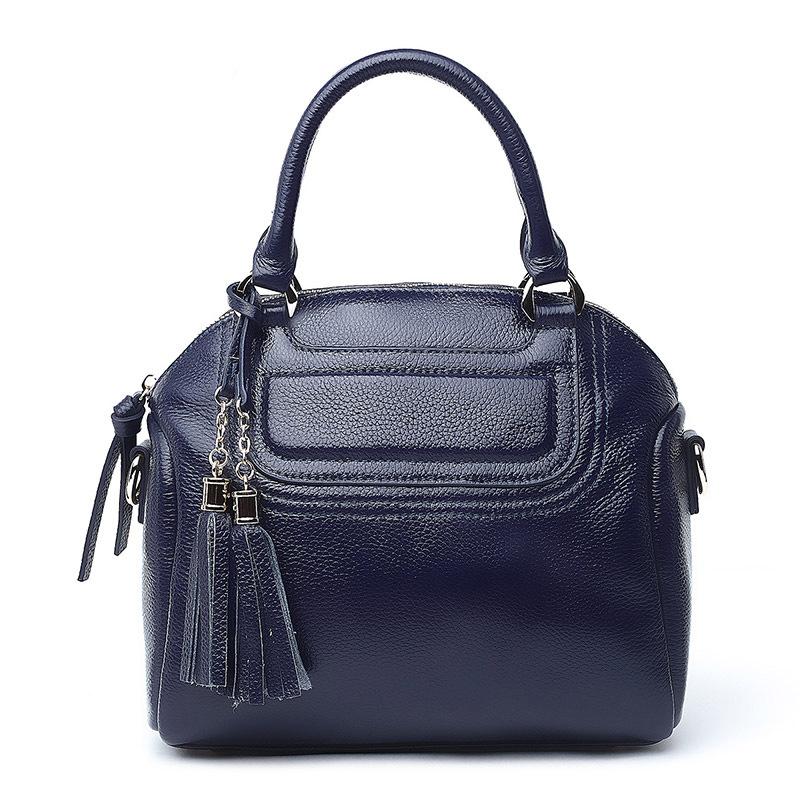 Fashion New Genuine Leather Tassel Bag Women Shoulder Messenger Bags Handbags Women Famous Brands Real Soft Leather Bag<br><br>Aliexpress