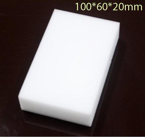 20pcs/lot Magic Melamine Sponge 100*60*20mm Cleaning Eraser Multi-functional Sponge Without Packing Bag