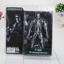 Retail high quality 7 inch NECA Terminator 2 T-800 ENDOSKELETON model Figure for kids Toys(China (Mainland))