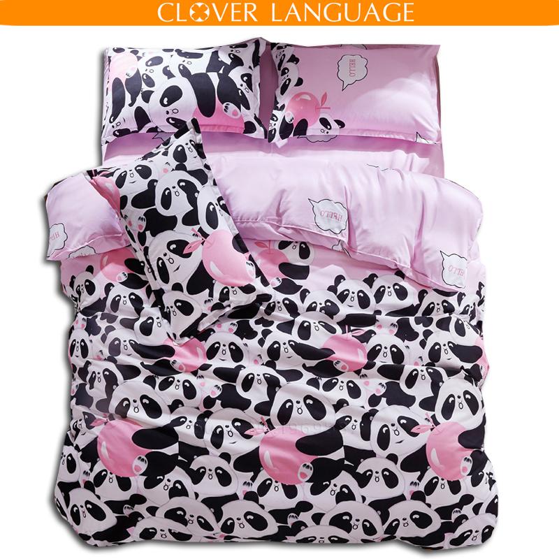 Commentaires panda couvre lit faire des achats en ligne - Ensemble draps lit double ...