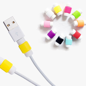 Trendy Cute Protector Saver Cover For iPhone Lightning USB Charging Cable Cord