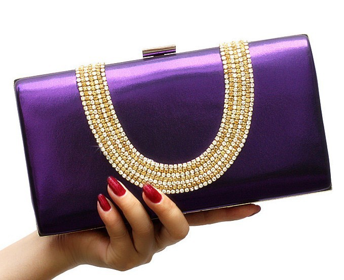 NEW ! NEW ! NEW! High quality 2013 New Womens Luxurious Diamond Evening Bags ,crystal clutch rings evening bags / Day Clutches<br><br>Aliexpress
