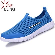 Larger Size Men Shoes 2016 Spring Summer Autumn Breathable Mesh Hollow Mens Shoes Outdoor Flat Shoe Slip-on Platform Shoes 46