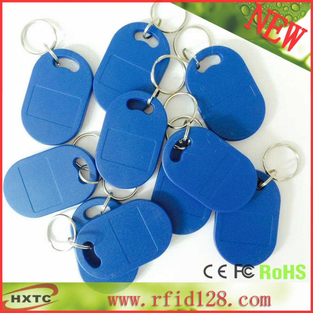 20PCS Writable& Readable ISO14443A 13.56MHz RFID Smart IC Key Fobs /Tags/Cards/IC Token For Parking system / Attendance System(China (Mainland))