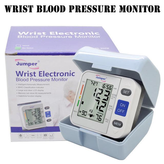 Бесплатная доставка здравоохранения новый 900W1 жк-цифровой наручные артериального ...