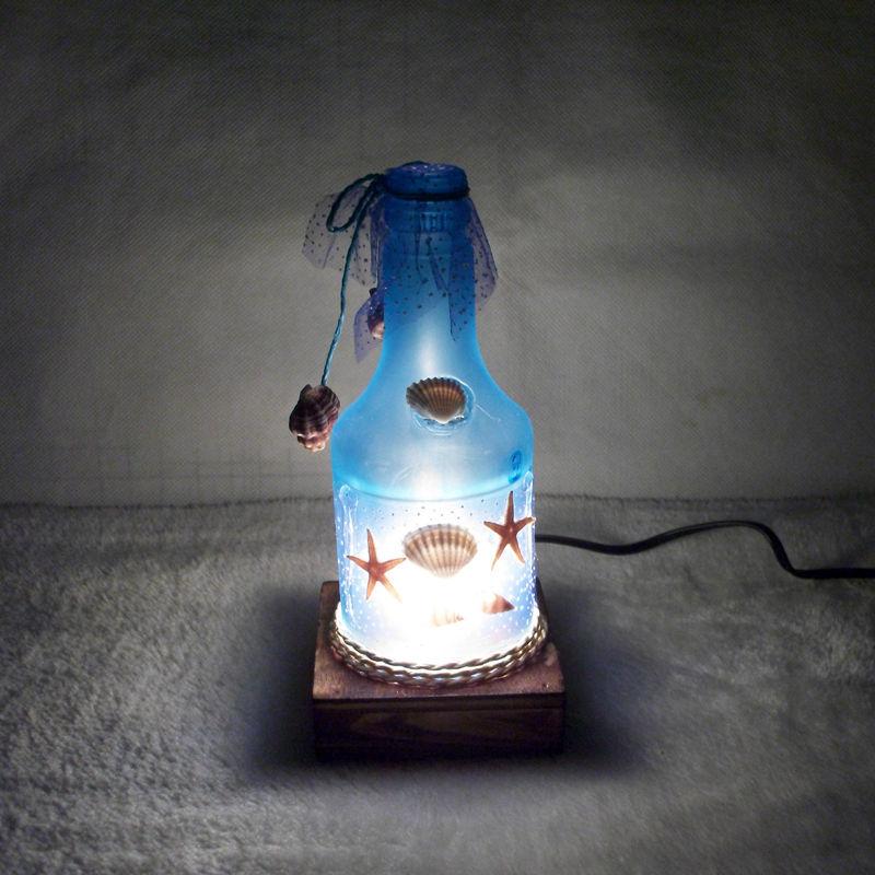 De chevet bouteille promotion achetez des de chevet for Lampe de chevet romantique