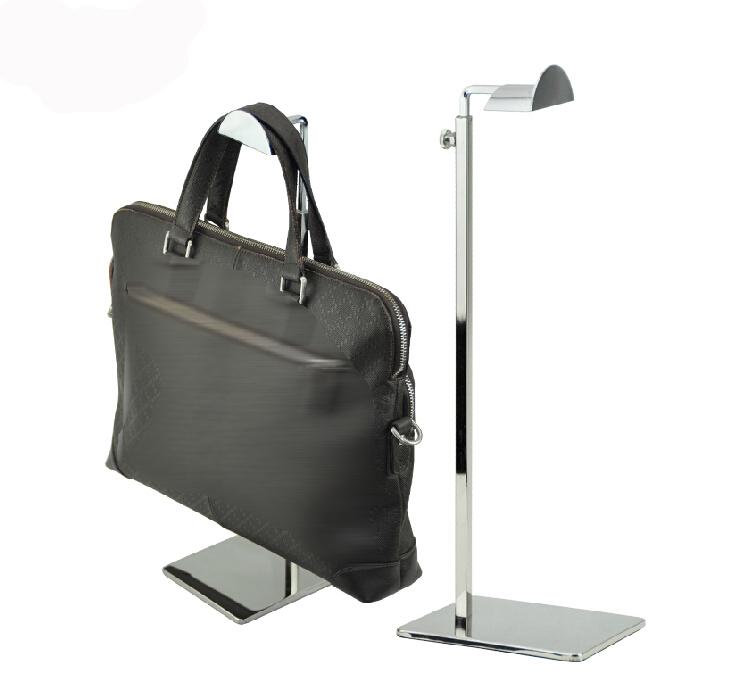Hot Sale Adjustable Mirror Metal Handbag Stand Handbag Display Stand Women Handbag Bag Display Rack Holder(China (Mainland))