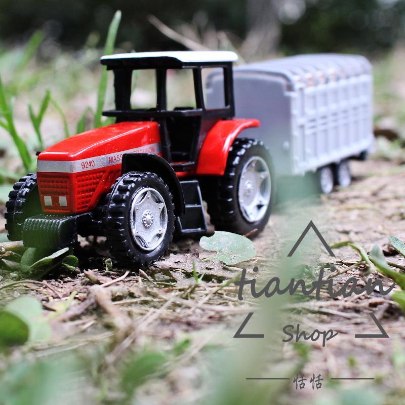 siku 1 64 alliage modle de voiture tracteur remorque transport bovins enfants toys ornements enfants