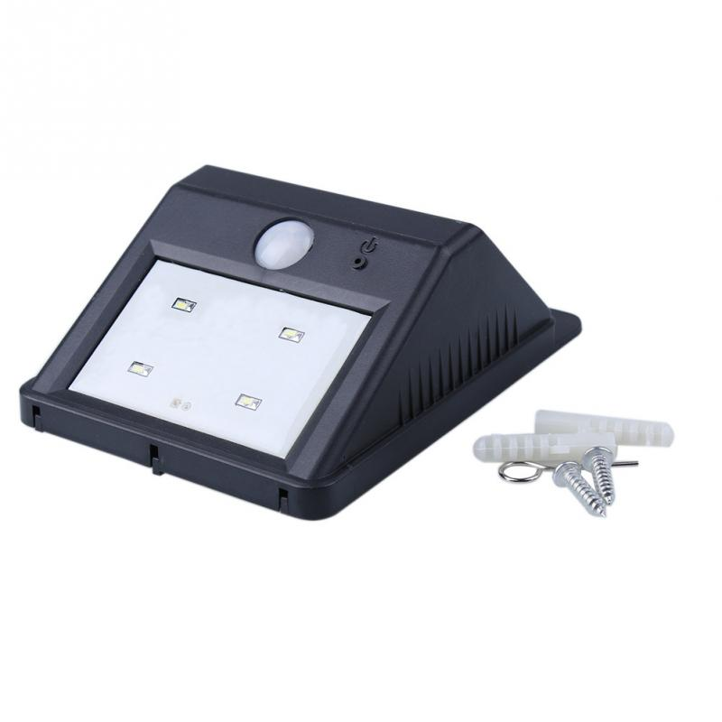 1pc New Corridor Light Outdoor Lamp Lighting Solar Lamp 4LED 3M Sensor Light For Home USE(China (Mainland))
