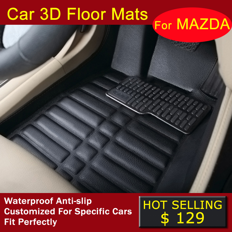 Коврик для приборной панели авто RRAIN Mazda 6 ATENZA Mazda 3 Axela Mazda cx/5 5 3D special made car floor mats fit for mazda 3 axela 6 atenza 2 8 cx5 cx 5 cx 7 3d custom waterproof car styling rugs floor liners