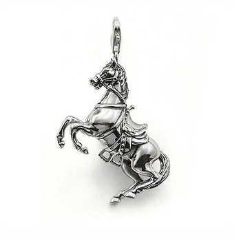 Wholesale Hot fashion 925 sterling silver new horse pendant charm Super price !Free Shipping LP265