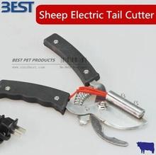 Бескровная-люси электрическое отопление хвост резак хвост резки пристыкован хвост плоскогубцы для овцы козы бесплатная доставка