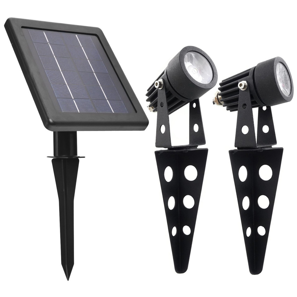 Spotlight Warm Mini 50X Twin Solar LED Lamp Outdoor