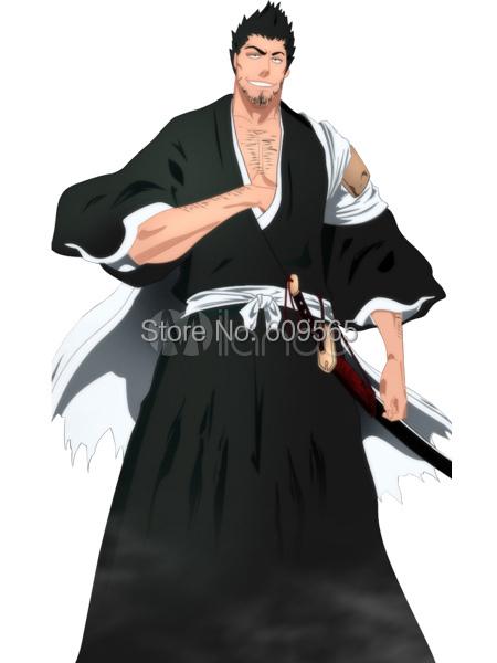 Bleach Isshin Kurosaki Cosplay Costume Overcoat , Sash , Top , PantsОдежда и ак�е��уары<br><br><br>Aliexpress