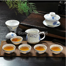 new arrival yixing tea set purple teapot porcelaine tea cup without tea tray